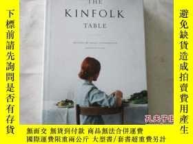 二手書博民逛書店THE罕見KINFOLK TABLE:FRECIPES FOR