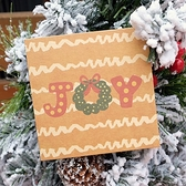 【BlueCat】聖誕 手繪風 方形牛皮卡片 (附信封) 賀卡
