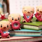【BlueCat】LOVE四隻小豬樹質擺...