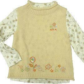 【波克貓哈日網】日本童裝◇Oak Doll◇《110~130cm》長T恤+背心