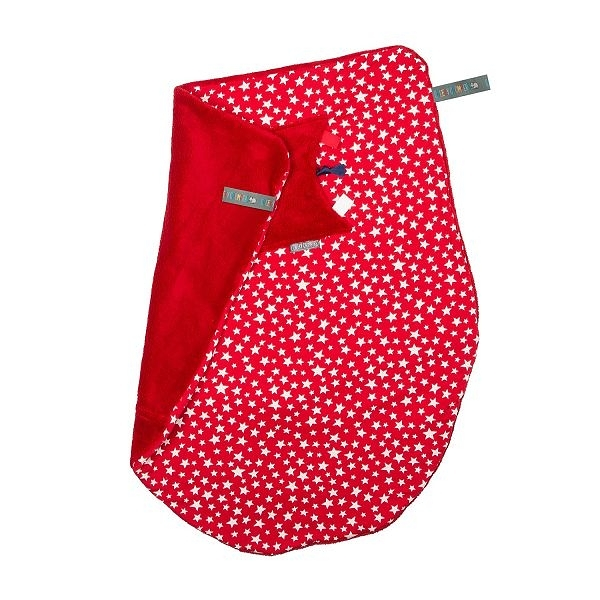 Cheeky Chompers Cheeky Blanket 袋鼠搓搓被/防風毯/冷氣毯 閃耀紅星/送禮(附提袋)