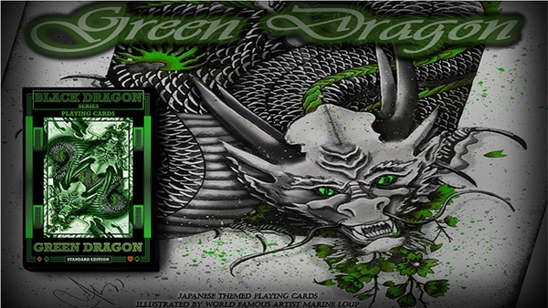 【USPCC撲克】Green Dragon Playing Cards