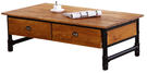 【南洋風休閒傢俱】茶几系列-華倫工業水管二抽大茶几邊桌 角桌 沙發桌 咖啡桌 (JF235-1)