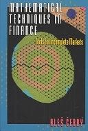 二手書博民逛書店 《Mathematical Techniques in Finance: Tools for Incomplete Markets》 R2Y ISBN:0691088071