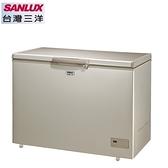 【三洋家電】320L 上掀式風扇式無霜冷凍櫃《SCF-320GF》全新原廠保固