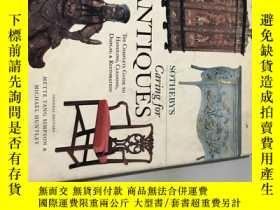 二手書博民逛書店sothebys罕見caring for antiquesY13