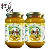 A10391   【韓客】蜂蜜柚子茶2000g/瓶x2入
