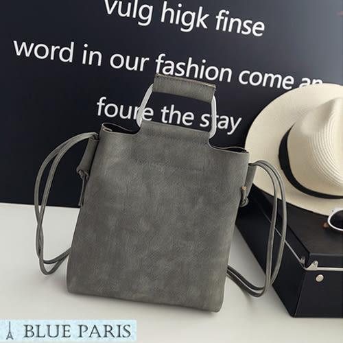 藍色巴黎 ★ 韩版復古風單肩斜挎側背包 水桶包  手提包 《3色》【21569】