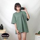 【正韓直送】韓國女裝 基本款寬鬆T恤 正...
