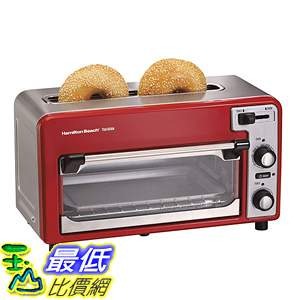 [美國直購] Hamilton Beach 22722 ensemble Toastation Toaster & Oven 烤麵包機 烤箱