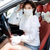 口罩/面罩 戶外女士超大護頸防曬口罩防紫外線 透氣防曬面罩