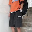 五分褲 夏季男士休閒短褲男寬鬆潮流褲衩運動沙灘褲外穿七分褲中褲 - 古梵希