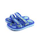 G.P(GOLD PIGEON) 拖鞋 戶外 防水 藍色 中童 童鞋 G0523B-20 no060 17.5~20.5cm