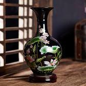 陶瓷器花瓶擺件客廳插花現代中式家居電視櫃裝飾品瓷瓶花器限時7折起,最後一天