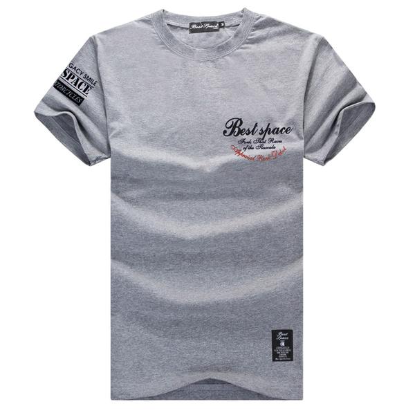 現貨在台 MIT 台灣製造 正反多字體設計圓領短袖印花T恤 男女款 短T 潮流文字 短袖上衣【QJFJ2178】