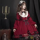 lolita安眠童話op洛麗塔日常洋裝日系蘿莉連身裙【聚可愛】