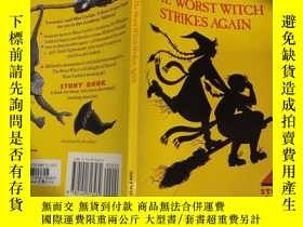 二手書博民逛書店the罕見worst witch strikes again 最壞的女巫又來了Y200392