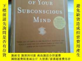 二手書博民逛書店the罕見power of your subconscious