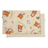 【享夢城堡】拉拉熊 輕鬆過生活枕套(2入)