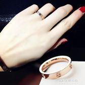 戒指我要我的范時尚大氣歐美夸張戒指女韓版指環簡約十字戒  朵拉朵衣櫥