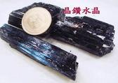 『晶鑽水晶』正統巴西黑碧璽原礦~鏡面光澤~又黑釉亮**新貨特惠中*中型2-3個