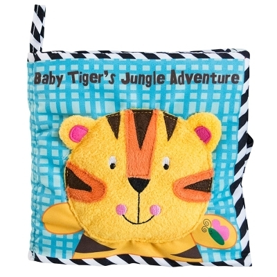 美國Manhattan Toy-Baby Tiger's Jungle Adventure 老虎冒險軟布書