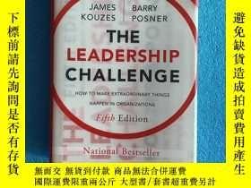 二手書博民逛書店The罕見Leadership Challenge: How to Make Extraordinary Thin