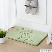 地毯浴室廚房吸水防滑臥室門記地毯地墊【千尋之旅】