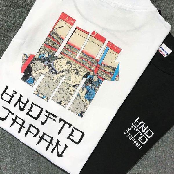 Kumo shoes-現貨Undefeated Ukiyoe Sumo Tee 日本限定 相撲 柵欄 字體 黑色 白色