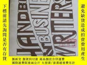 二手書博民逛書店Handbook罕見for Business WritersY2