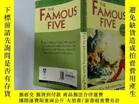 二手書博民逛書店Five罕見Go Adventuring Again:五個又去冒險了Y200392
