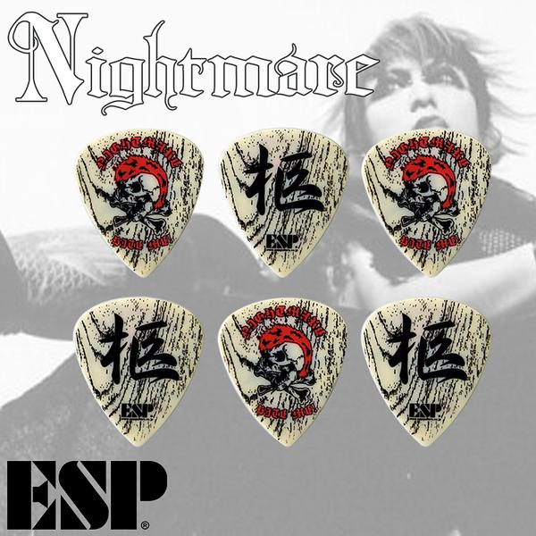 小叮噹的店 - PICK 彈片 ESP 撥片 NIGHTMARE 柩 (PA-NH08)