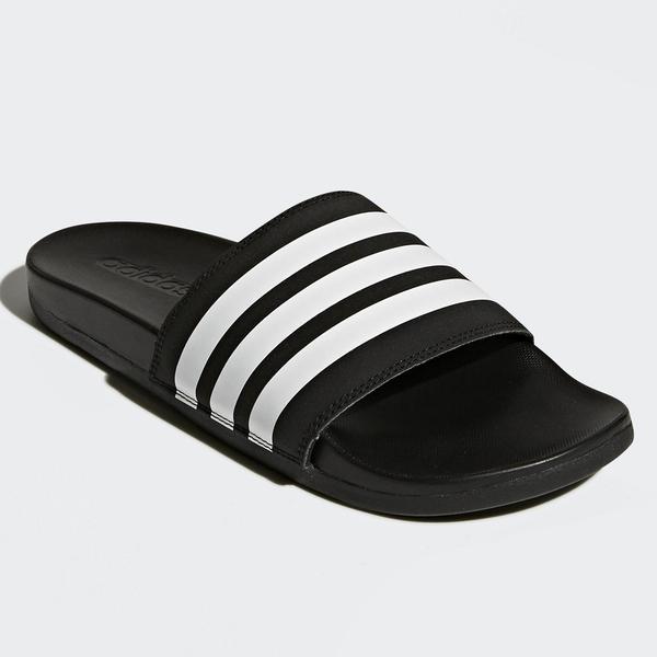 ADIDAS ADILETTE COMFORT 男鞋 女鞋 拖鞋 軟底 輕巧 緩衝 黑白【運動世界】AP9971