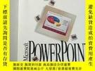 二手書博民逛書店Microsoft罕見Powerpoint Handbook 外文原版 看圖購買..Y267268 MICR
