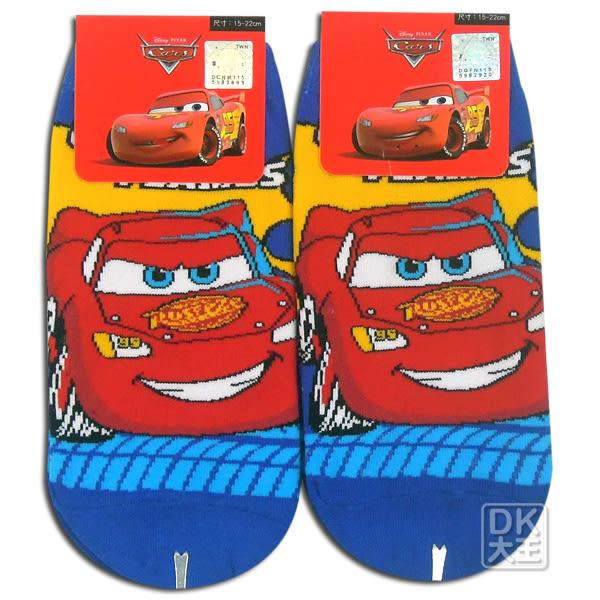 迪士尼 CARS 閃電麥坤直板襪 CA-A502 短襪 船襪 ~DK襪子毛巾大王