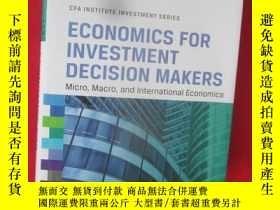 二手書博民逛書店Economics罕見for Investment Decisi