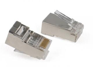 [ 中將3C ] Pro-Best CAT.6A PLUG 二件式插頭鐵殼 (一包10入) NET-PLG-PRO-6AS