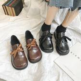 森雅誠品 日系復古軟妹系帶單鞋女學生日韓原宿百搭大頭娃娃鞋