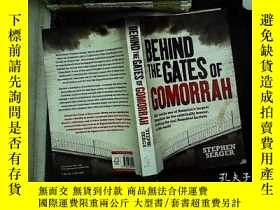 二手書博民逛書店BEHIND罕見THE GATES OF GOMORRAH 06