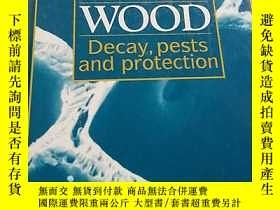 二手書博民逛書店wood罕見decay pests and protection