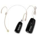 隱形 無線 雙耳掛式 2.4G麥克風 H...