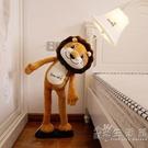 台燈臥室床頭燈創意北歐溫馨男女孩可愛卡通兒童房護眼落地獅子燈 小時光生活館
