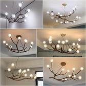 北歐樹枝吊燈創意個性客廳燈簡約現代臥室燈
