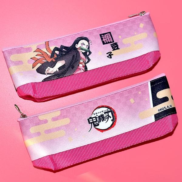 日本製 鬼滅之刃 無限列車 竈門禰豆子 筆袋 筆盒 文具袋 日本販售正版 POLY製