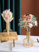 仿真花 輕奢滿天星向日葵尤加利干花花束假花仿真花擺件客廳餐桌裝飾擺設【八折搶購】