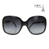 【巴黎站二手名牌專賣店】*現貨*CHANEL 香奈兒 真品*5171 側框雙C蝴蝶結飾墨鏡太陽眼鏡