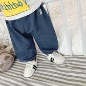 618好康鉅惠寶寶防蚊褲純棉新生兒空調褲3個月女嬰兒褲子