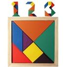 (小)彩色七巧板 / 形狀認知七巧板 19元