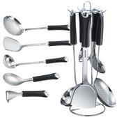鏟勺套裝廚具304不銹鋼廚房用具全套鍋鏟家用炒菜鏟子湯勺