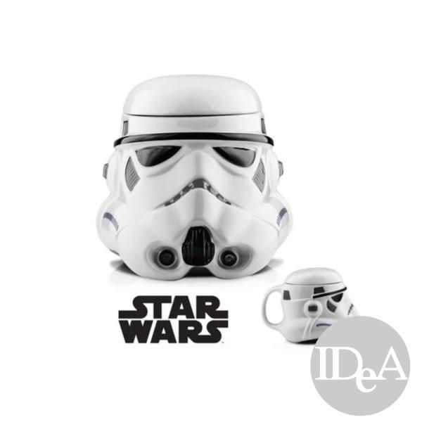 星際大戰 STAR WARS 黑武士 白兵 3D 立體造型 加蓋馬克杯水杯 杯蓋 陶瓷 辦公室 擺飾 耶誕